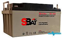 Акумуляторна батарея SB 12-70 LL (70 А год), фото 1