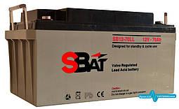 Акумуляторна батарея SB 12-70 LL (70 А год)