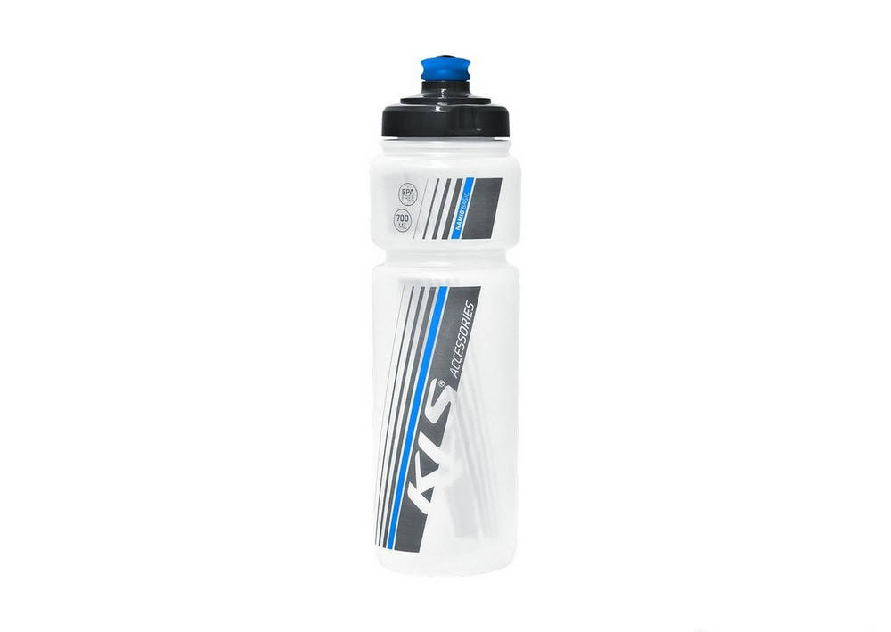 Фляга KLS Namib 700 ml clear blu, фото 2