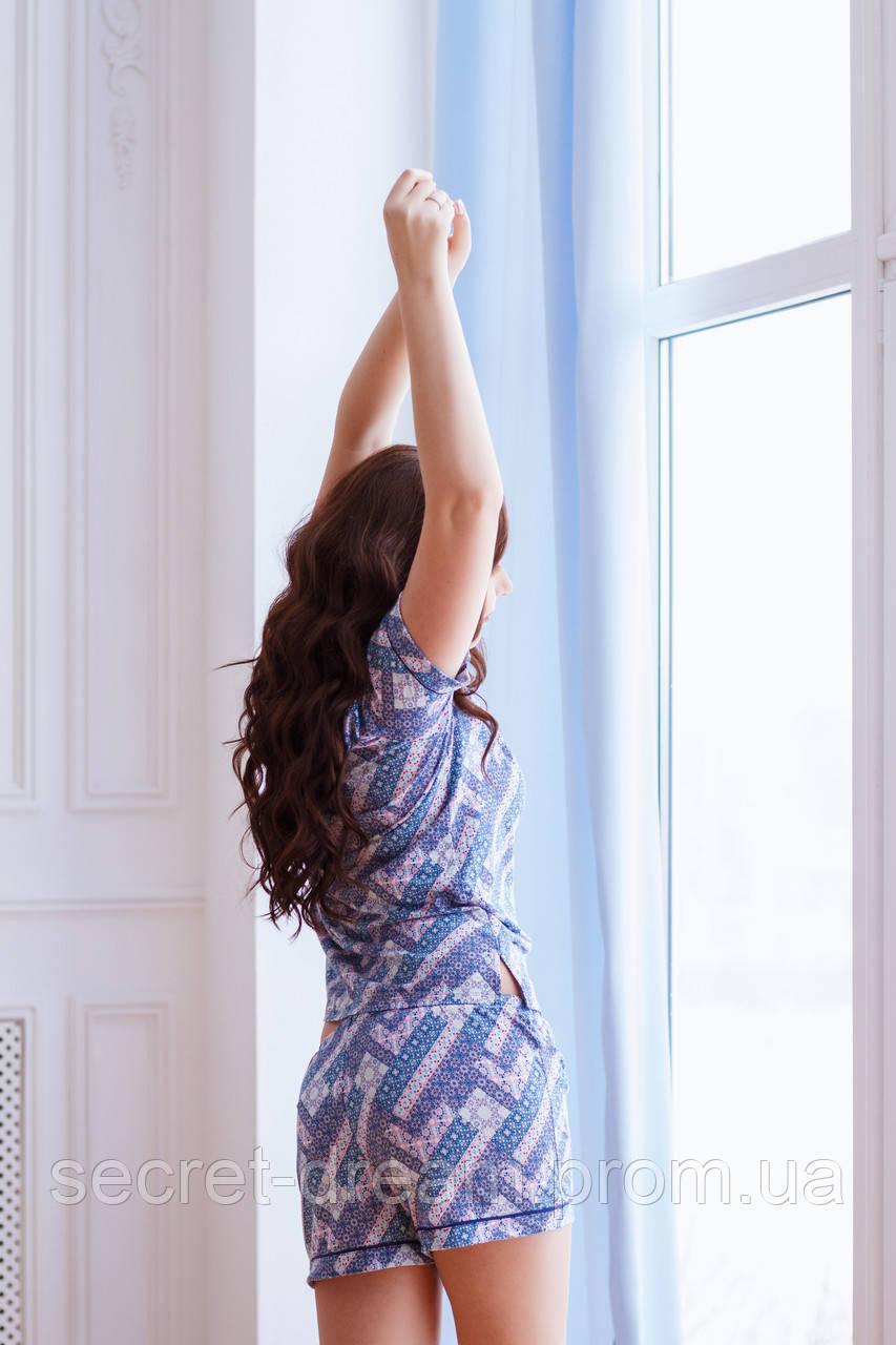 Пижама: майка и шортики Victoria's Secret (XS)