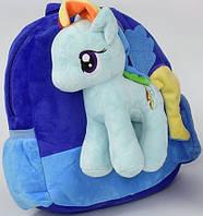 Рюкзак с игрушкой Мой маленький Пони N 00050, фото 1