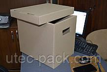 Короб архівний гофрокартон 335*245*300 мм