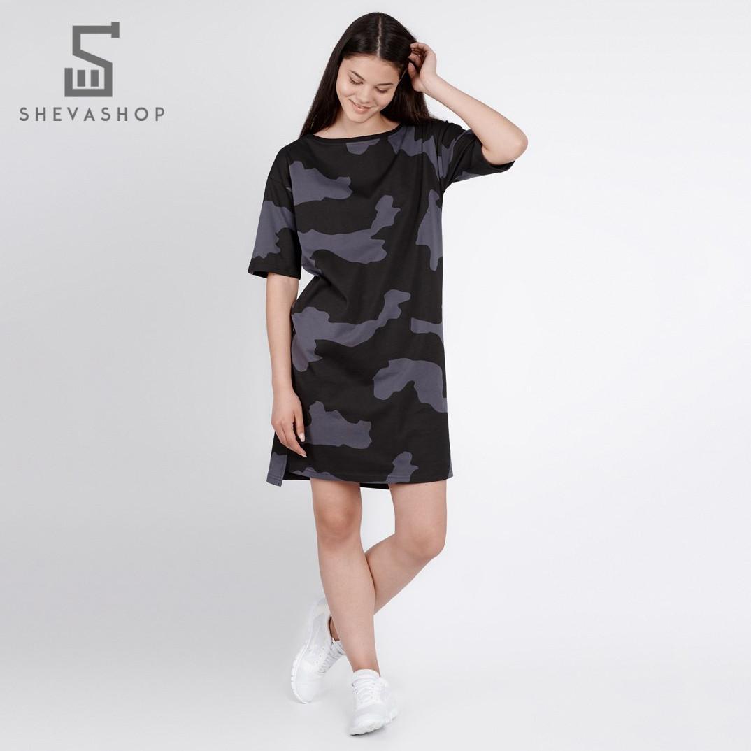 Женское платье UP CAMO DRESS камуфляжное