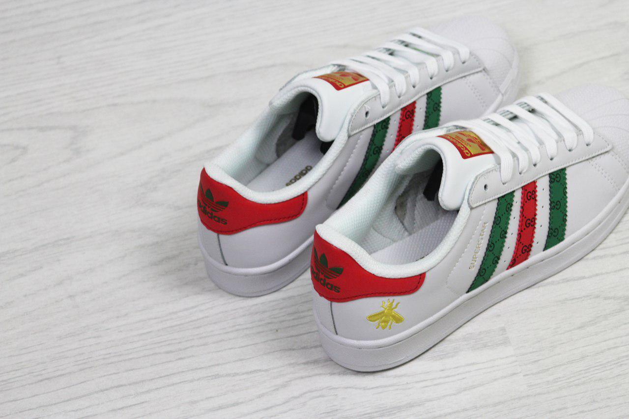 2abbac30395a92 Кроссовки Gucci x Adidas Superstar 14682549  продажа
