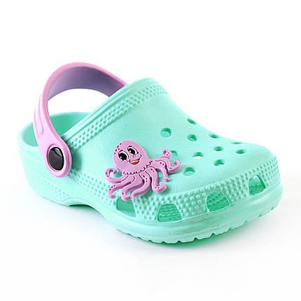 235da0636f8d Детские Сабо по типу кроксы   шлепанцы   сланцы   сандалии из ЭВА.  Салатовый (