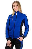 Женский спортивный костюм , красивый, р-р 46-52 (синий)