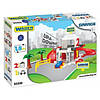Игровой набор детский гараж 2 уровня с дорогой 1,8 м Wader 50300