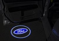 Подсветка логотипа авто на двери Ford