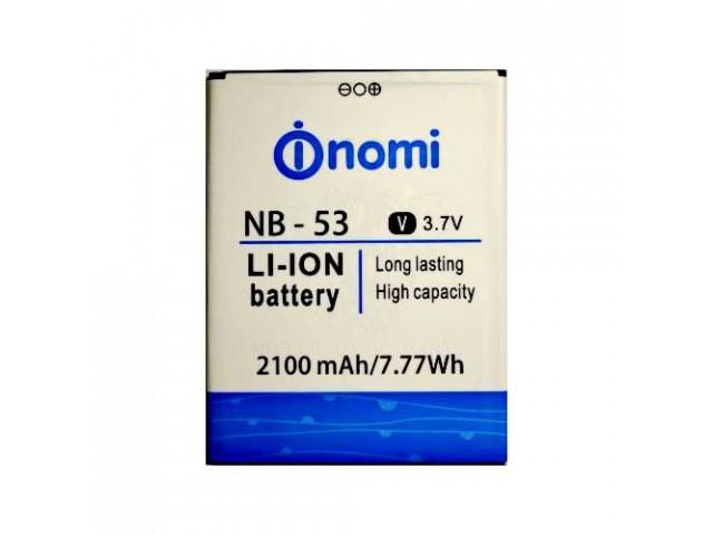 Аккумулятор Nomi NB-53, Nomi i502 Drive 2100mAh Оригинал
