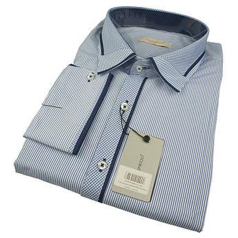 Чоловіча комбінована сорочка Negredo 0370 B Slim C розмір 5XL
