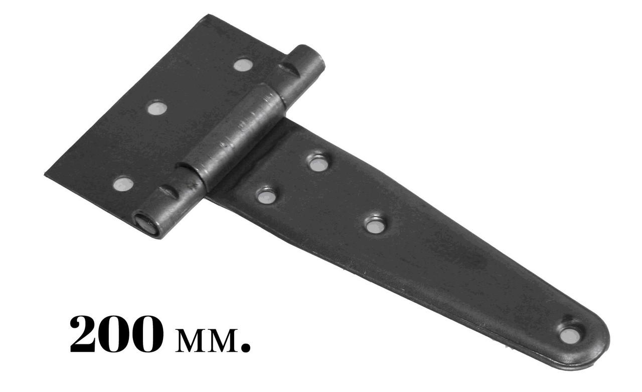 Петля Стрела черная 200
