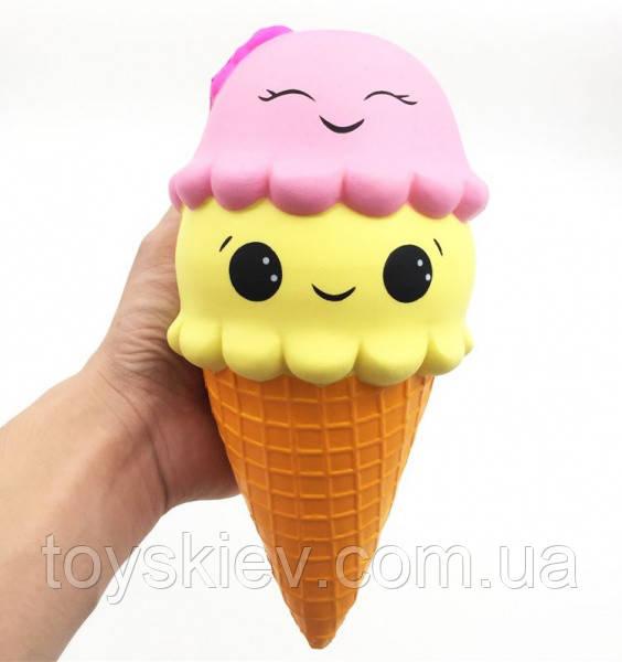 Сквиши SQUISHY мороженное Сквиш Антистресс игрушка ароматная большая