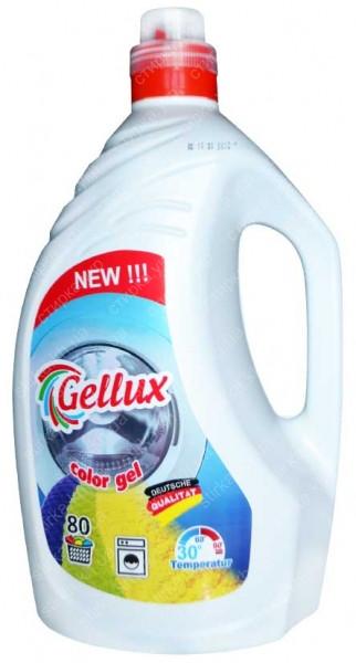 Гель для стирки Gellux (Universal и Color) 80 стирок (4л.)