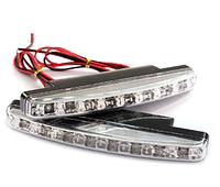 Светодиодные авто фара дневные ходовые огни ДХО LED DRL-6-Y-W