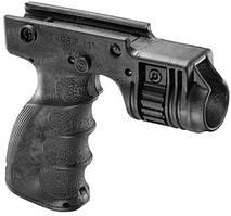 Рукоятка передняя FAB Defense , встроенное крепление для фонарей с передней кнопкой