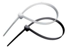 Стяжка кабельная RIGHT HAUSEN 100 х 2,5 мм белая универсальная HN-184011 (100 шт/уп)