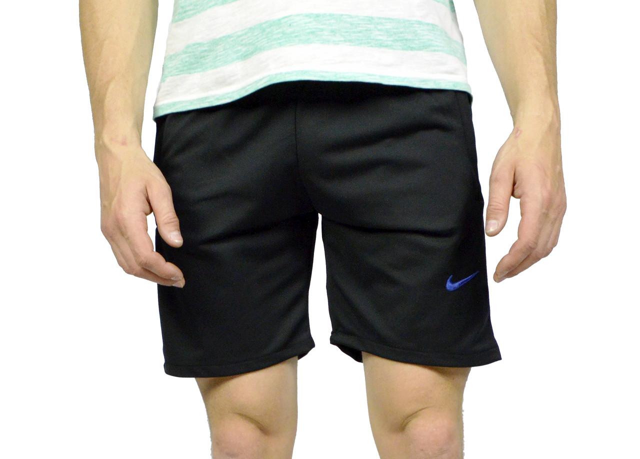 Черные мужские шорты NIKE на лето