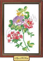 Схема для вышивки бисером «Соцветия цветов»