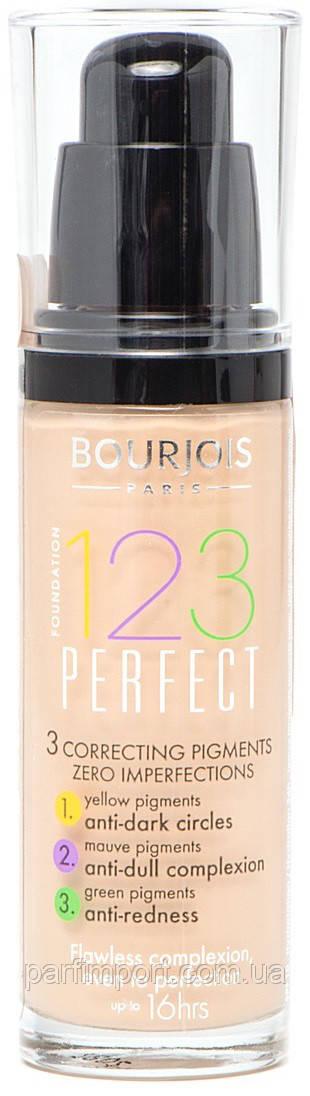 Bourjois 123 ton Perfect 53  (оригинал подлинник  Франция)