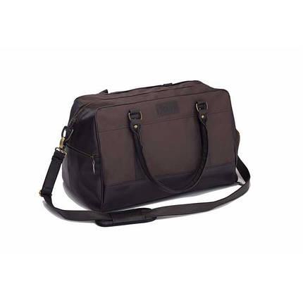Спортивная мужская  дорожная сумка GOVAN коричневая Solier S18, фото 2