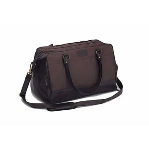 Спортивная мужская  дорожная сумка GOVAN коричневая Solier S18
