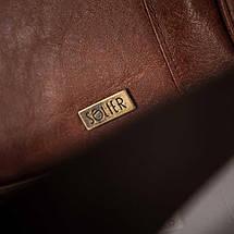 Мужская сумка на плечо Solier S15 светло-коричневая, фото 2