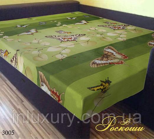 "Простынь на резинке ""Зеленая Бабочка"" 160х200х20, фото 2"