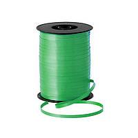 Лента (тесьма) зеленая для гелиевых шаров