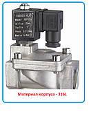 """Клапан электромагнитный  RSP-25J, 1"""" нерж. сталь 316L, фото 1"""