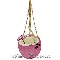 Женская сумка (Coconut) 3 Цвета Розовый  (19x19x8 cm.)