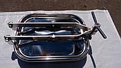 Прямоугольный нержавеющий люк 310 x 420 mm  AISI 304 Pmax=0,5 bar, фото 2