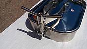 Прямоугольный нержавеющий люк 310 x 420 mm  AISI 304 Pmax=0,5 bar, фото 3