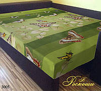 "Простынь на резинке ""Зеленая Бабочка"" 80х200х20"
