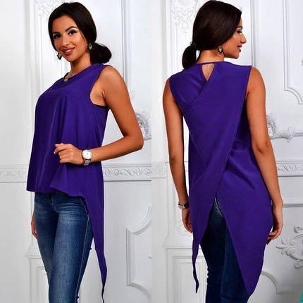 Блуза женская летняя с шлейфом, фото 2