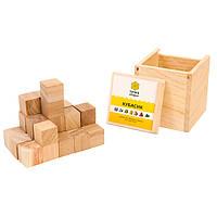 Настольная логическая игра - Кубасик, кубики Сома, кубики Никитина