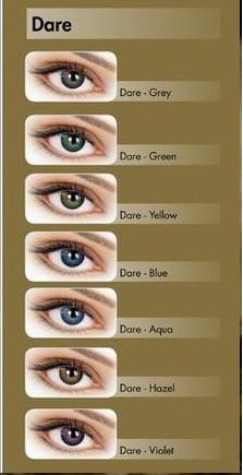 Цветные контактные линзы Adore Dare