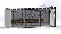 Остановочный пункт №6 размер 6х2х2,3м, фото 1