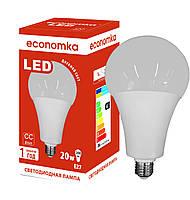 Светодиодная лампа высокомощная Economka LED А80 20w 4200K