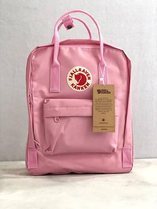 Рюкзак реплика Fjallraven Kanken / канкен розовый, фото 2