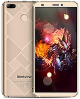 Смартфон Blackview S6 2/16Gb Gold, 8+0.3/2Мп, 5.7 IPS, 4180мАч, 2sim, MT6737, 4 ядра, 4G(LTE), GPS