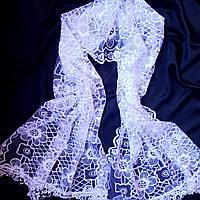 Белый шарф для крещения или венчания