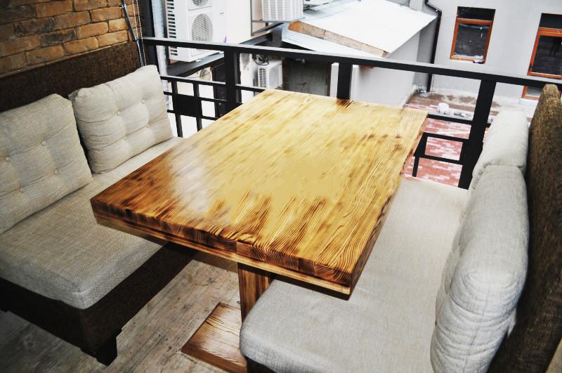"""Стол для ресторана """"Промес"""" из натурального дерева"""