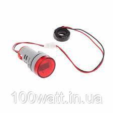 Вольтметр - амперметр цифровой переменного тока индикатор красный ST898R