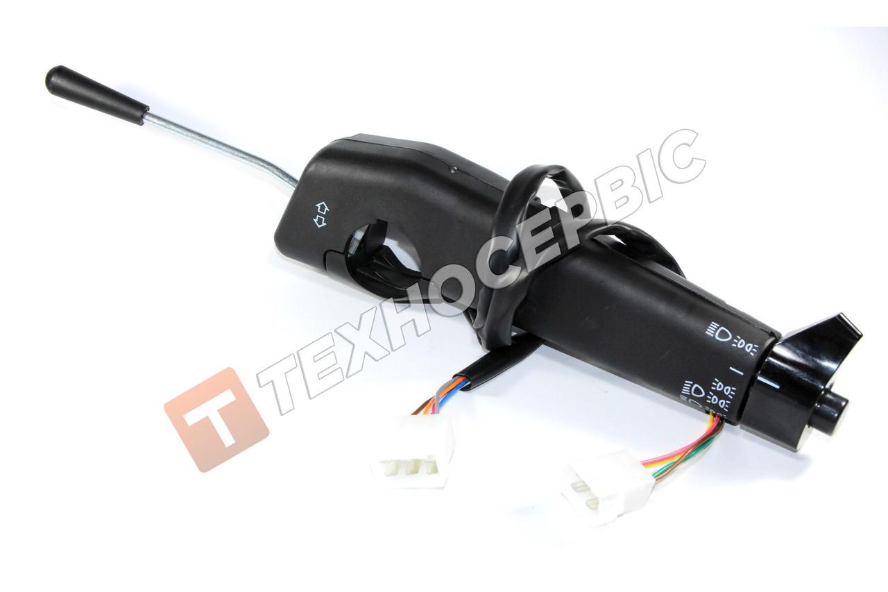 Переключатель света и поворотов П145, Камаз, Краз, ЛИАЗ, подрулевой комбинированный  (П145-3709)