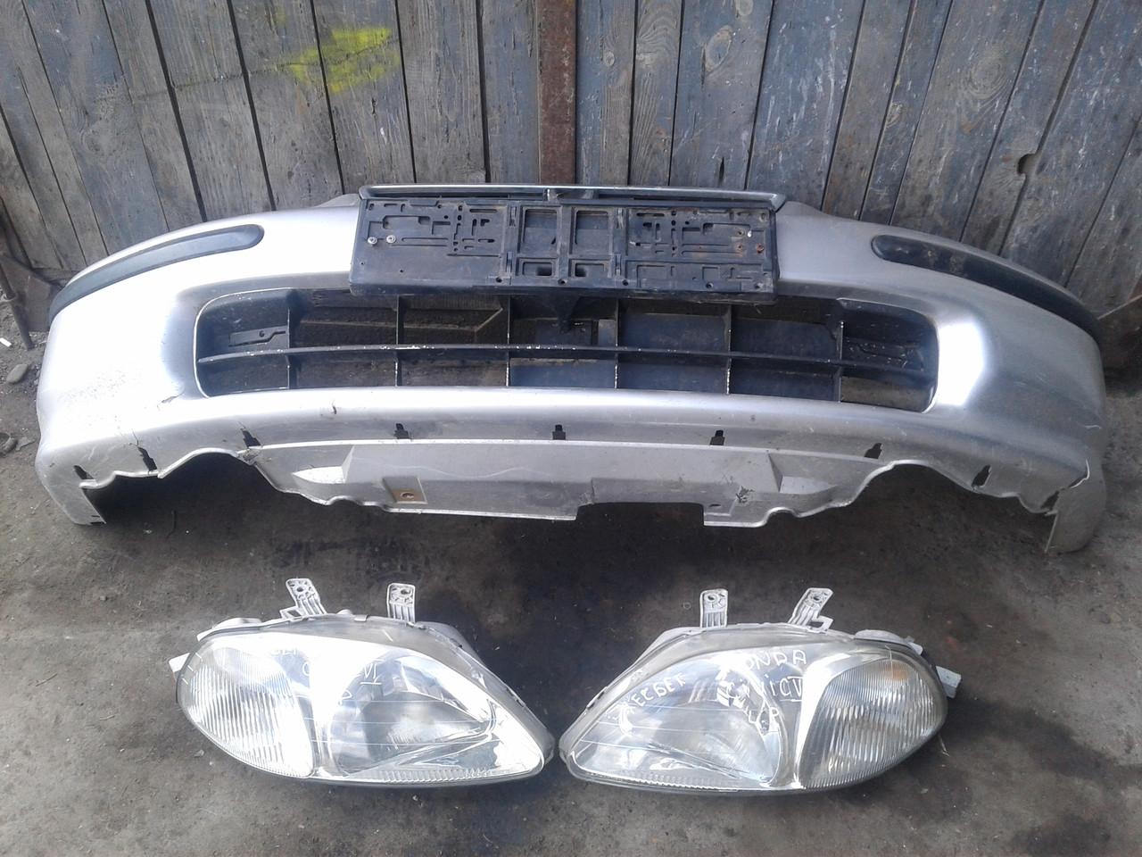 Бампер передній фара для Honda Civic USA