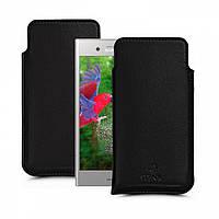 Футляр Stenk Elegance для Sony Xperia XZ1 Чёрный (60399)