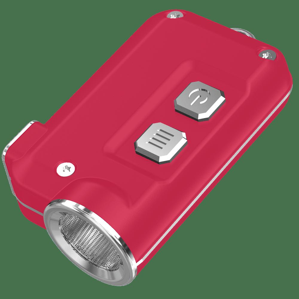Фонарь Nitecore TINI (Cree XP-G2 S3 LED, 380 люмен, 4 режима, USB), Red