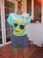 (44р) Летний набор костюм (шорты и футболка)