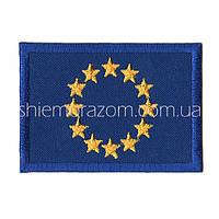 "Нашивка шеврон ""Euro union""  клей"
