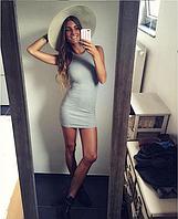 Современное трикотажное платье...